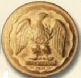 Пуговицы с мундира Серого драгуна